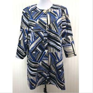 Kasper Women's Blazer Jacket Size 18 2X 3/4 Sleeve